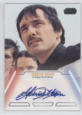 2013 Topps Star Wars Jedi Legacy Autographs #NoN - Garrick Hagon as Biggs Darklighter