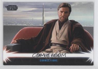 2013 Topps Star Wars Jedi Legacy Connections #C-1 - Luke Skywalker, Anakin Skywalker