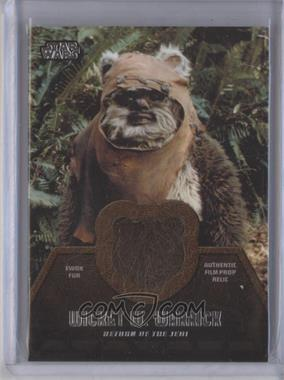 2013 Topps Star Wars Jedi Legacy Ewok Fur Relics #ER-1 - Wicket W. Warrick
