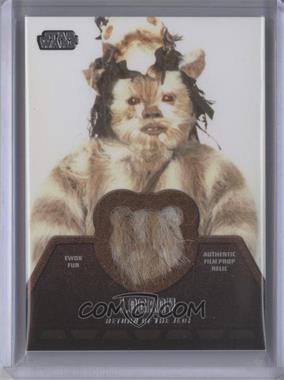 2013 Topps Star Wars Jedi Legacy Ewok Fur Relics #ER-3 - [Missing]