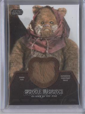 2013 Topps Star Wars Jedi Legacy Ewok Fur Relics #ER-4 - Widdle Warrick
