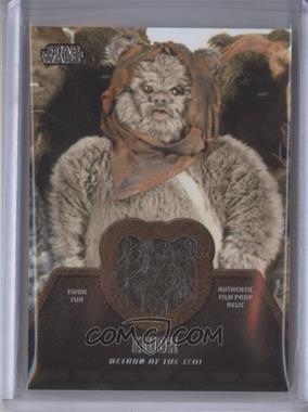 2013 Topps Star Wars Jedi Legacy Ewok Fur Relics #ER-6 - Ewok