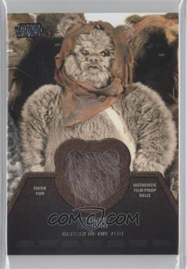 2013 Topps Star Wars Jedi Legacy Ewok Fur Relics #ER-6 - [Missing]