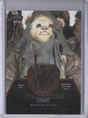 2013 Topps Star Wars Jedi Legacy Ewok Fur Relics #ER-7 - Ewok
