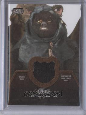 2013 Topps Star Wars Jedi Legacy Ewok Fur Relics #ER-8 - Ewok