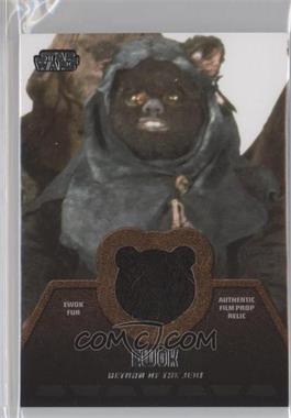 2013 Topps Star Wars Jedi Legacy Ewok Fur Relics #ER-8 - [Missing]