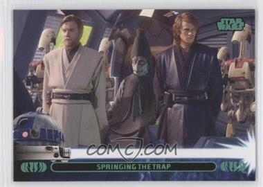 2013 Topps Star Wars Jedi Legacy Green #26A - Springing the Trap (Anakin Skywalker)