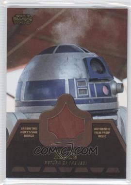 2013 Topps Star Wars Jedi Legacy Jabba the Hutt's Barge Sail Relics #JR-5 - R2-D2