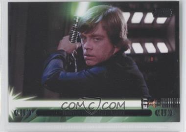 2013 Topps Star Wars Jedi Legacy Promos #P-2 - Battle Through Blood (Luke Skywalker)