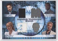 Tony Stark, Col. James Rhodey Rhodes, Pepper Potts, Killian