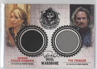 Katey Sagal as Gemma Teller Morrow, Kim Coates as Tig Trager