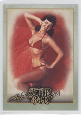 2014 Leaf Bettie Page - [Base] #BP30 - In a 1993 telephone interview...