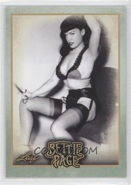 2014 Leaf Bettie Page - [Base] #BP58 - Actor Robert Culp taught some of...