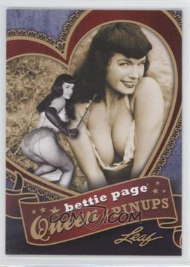 2014 Leaf Bettie Page - Queen of Pinups #BP-QP7 - Bettie Page