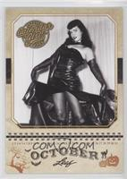 Bettie Page October