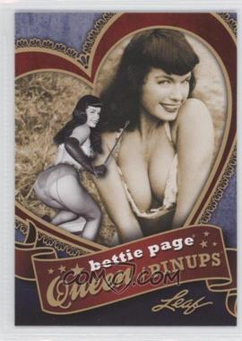 2014 Leaf Bettie Page Queen of Pinups #BP-QP7 - Bettie Page