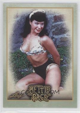 2014 Leaf Bettie Page #BP31 - Page would eventually and finally...