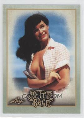 2014 Leaf Bettie Page #BP33 - In 1996, an official biography...