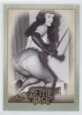 "2014 Leaf Bettie Page #BP45 - In 2005, the film ""The Notorious Bettie Page""..."