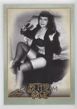 2014 Leaf Bettie Page #BP47 - Beyonce pays homage to Bettie...