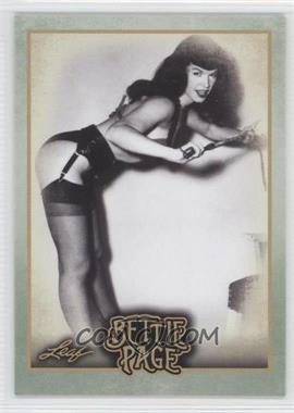 2014 Leaf Bettie Page #BP57 - Bettie was aggressively pursued by...