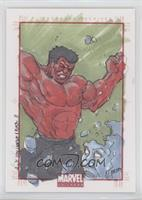 Unknown Artist (Red Hulk) /1