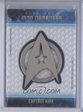 2014 Rittenhouse Star Trek Movies (Reboots) - Into Darkness Badges #B1 - Chris Pine as Captain Kirk (Captain's Badge) /250