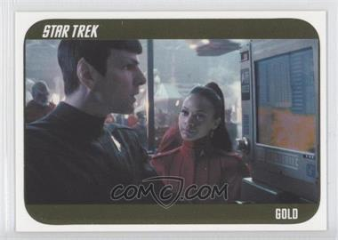 2014 Rittenhouse Star Trek Movies (Reboots) Gold #32 - [Missing] /100