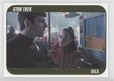 2014 Rittenhouse Star Trek Movies (Reboots) Star Trek Gold #32 - [Missing] /100