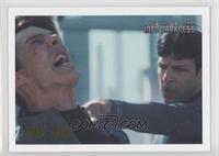 Spock chases Khan.. /100