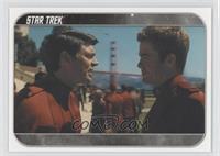 [Missing]At Starfleet Academy, Cadet Kirk...