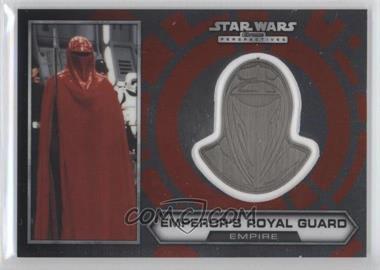 2014 Topps Star Wars Chrome Perspectives - Helmet Medallion - Silver #29 - Emperor's Royal Guard