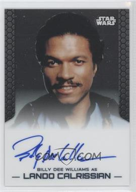 2014 Topps Star Wars Chrome Perspectives Autographs #BDWLC - Billy Dee Williams as Lando Calrissian