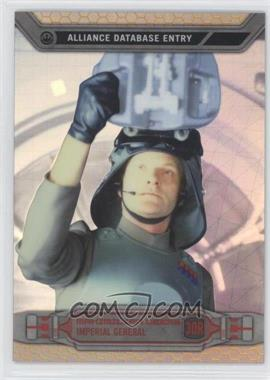 2014 Topps Star Wars Chrome Perspectives Gold Refractor #30R - Maximilian Veers /50