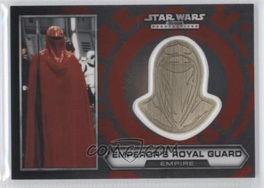 2014 Topps Star Wars Chrome Perspectives Helmet Medallion Silver #29 - Emperor's Royal Guard