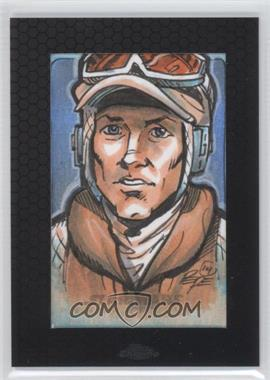 2014 Topps Star Wars Chrome Perspectives Sketch Cards #DP - Darrin Pepe