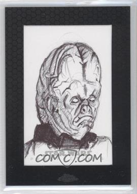 2014 Topps Star Wars Chrome Perspectives Sketch Cards #JS - John Sloboda