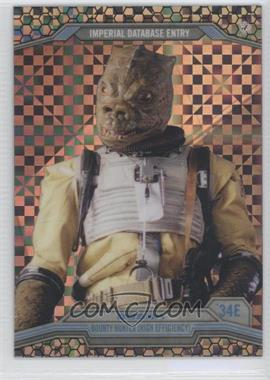 2014 Topps Star Wars Chrome Perspectives X-Fractor #34E - Bossk /99