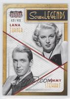 Jimmy Stewart, Lana Turner /49