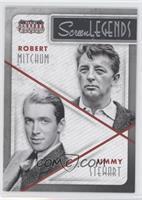 Jimmy Stewart, Robert Mitchum