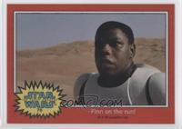 Finn on the run!
