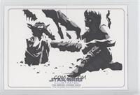 Unknown Artist (Yoda, Luke Skywalker) /1