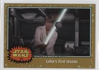 A New Hope - Luke's first lesson /50