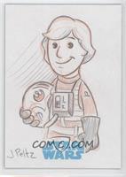 Jason Peltz (Luke Skywalker) /1