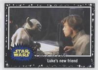 The Empire Strikes Back - Luke's new friend