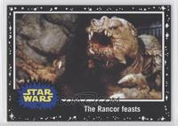 Return of the Jedi - The Rancor feasts