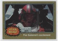The Force Awakens - Poe Dameron's excitement /50