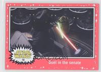 Revenge of the Sith - Duel in the senate