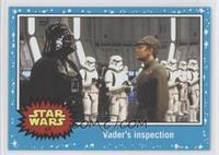 Return of the Jedi - Vader's inspection