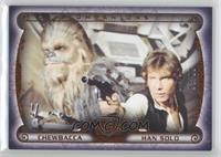 Chewbacca, Han Solo /99